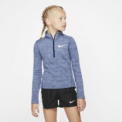 Nike Older Kids' (Girls') Long-Sleeve 1/2-Zip Running Top