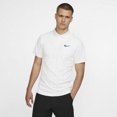 Ανδρική μπλούζα πόλο για τένις NikeCourt Advantage