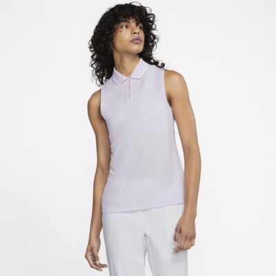 Polo de golf sin mangas para mujer Nike Dri-FIT Victory