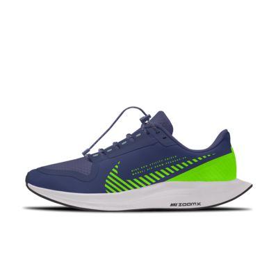 Nike Zoom Pegasus Turbo 2 Shield Low By You Custom Women's Running Shoe