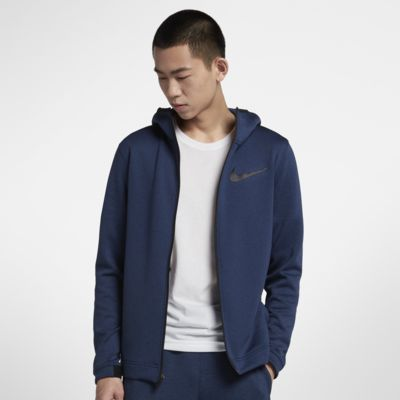 Nike Therma Flex Showtime 男子全长拉链开襟篮球连帽衫