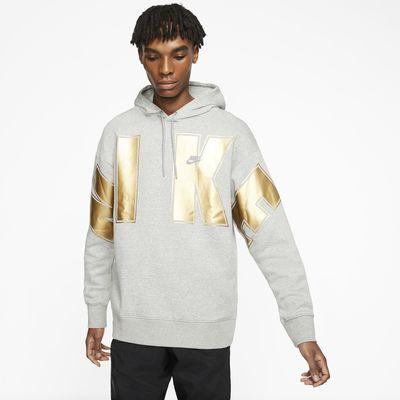 Felpa pullover in fleece con cappuccio Nike Sportswear