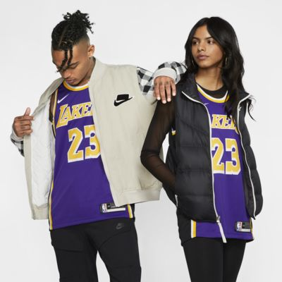 Camiseta Nike NBA Swingman LeBron James Lakers Statement Edition