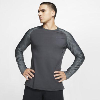 Nike Pro – langærmet træningsoverdel til mænd