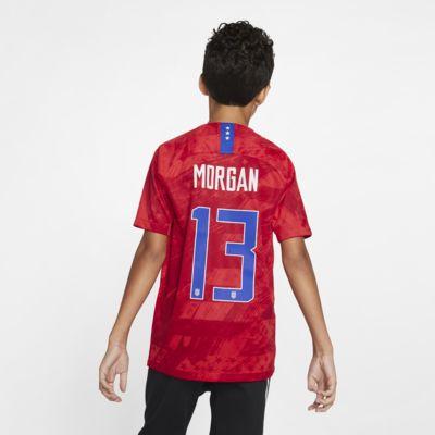 U.S. Stadium 2019 (Alex Morgan) Big Kids' Away Jersey