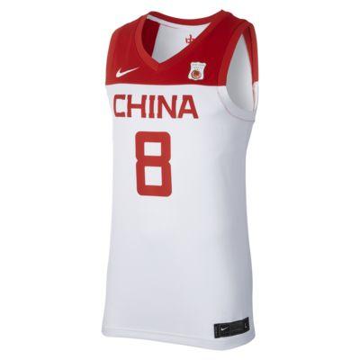 Nike 中国队(主场)男子篮球球衣