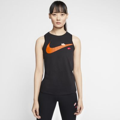 Nike Dri-FIT Trainings-Tanktop mit Grafik für Damen