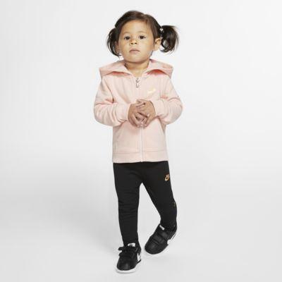 Dvoudílná souprava mikiny s kapucí a legín Nike Air pro kojence
