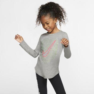 Nike Langarm-T-Shirt für jüngere Kinder
