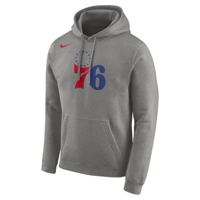Philadelphia 76ers Nike Sudadera con capucha de la NBA con logotipo - Hombre
