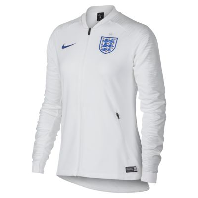 Chamarra de fútbol para mujer England Anthem