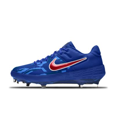Nike Alpha Huarache Elite 2 Low Metal Premium By You tilpasset baseballsko