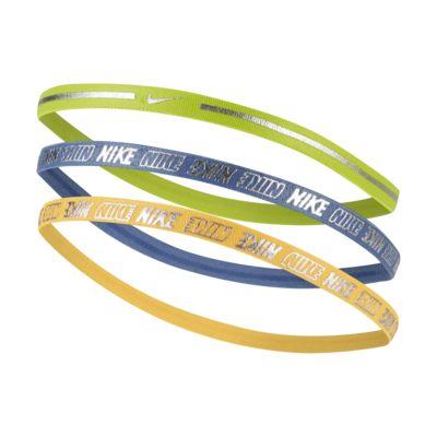 Nike Metallic Headbands (3-Pack) 2.0