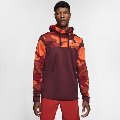 Sudadera con capucha de entrenamiento sin cierre para hombre Nike Therma