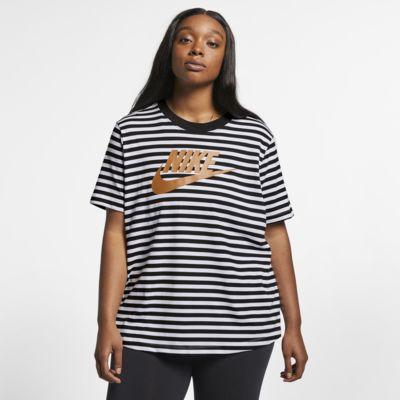 Nike Sportswear kortärmad topp för kvinnor (stora storlekar)
