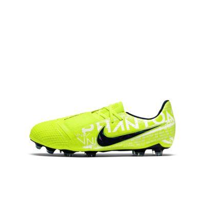 Fotbollssko för gräs Nike Jr. Phantom Venom Elite FG för ungdom