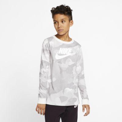 Tee-shirt à manches longues Nike Sportswear pour Garçon plus âgé