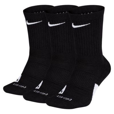 Chaussettes de basketball Nike Elite Crew (3 paires)