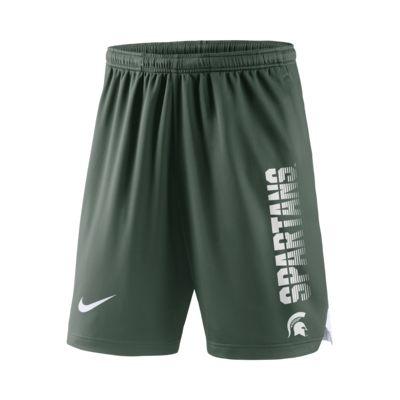 Nike College Breathe Player (Michigan State) Men's Shorts