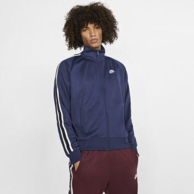Chamarra de calentamiento tejida para hombre Nike Sportswear N98