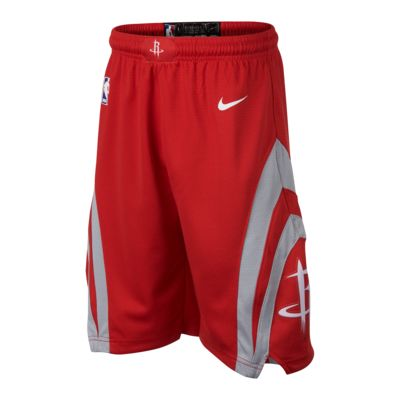 Houston Rockets Nike Icon Edition Swingman Big Kids' (Boys') NBA Shorts