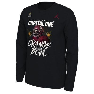 Jordan College Playoff Bound (Oklahoma) Men's Long-Sleeve T-Shirt