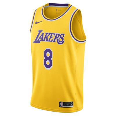 Kobe Bryant Icon Edition Swingman (Los Angeles Lakers) 男款 Nike NBA Connected Jersey