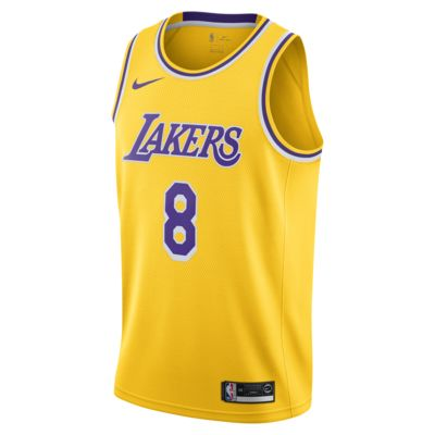 Maillot d'équipe Nike NBA Swingman Kobe Bryant Lakers Icon Edition