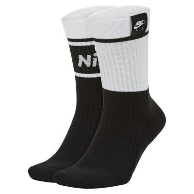 Nike Air SNEAKR Sox Crew Socks (2 Pairs)