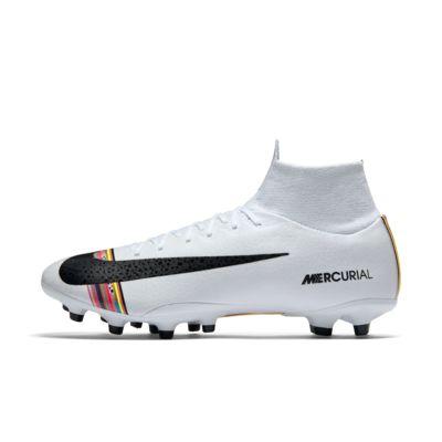 Купить Профессиональные футбольные бутсы для игры на искусственном газоне Nike Superfly 6 Pro AG-Pro, Чистая платина/Белый/Черный, 22861977, 12546770