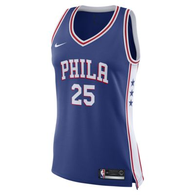 Ben Simmons Icon Edition Swingman (Philadelphia 76ers) Women's Nike NBA Connected Jersey