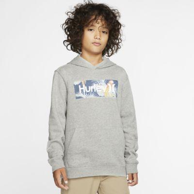 Sudadera con capucha de tejido Fleece sin cierre para niño Hurley One And Only Boxed Sierra