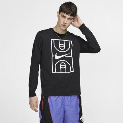 Nike Dri-FIT Men's Long-Sleeve Basketball T-Shirt
