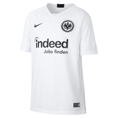 2018/19 Eintracht Frankfurt Stadium Away Older Kids' Football Shirt