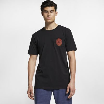 Hurley Premium Hot Smiles Pocket Men's T-Shirt