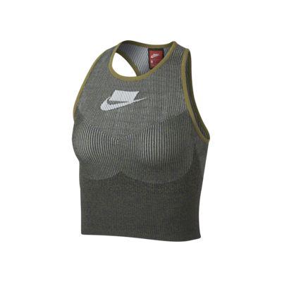 Nike Sportswear Tech Knit avkortet singlet til dame