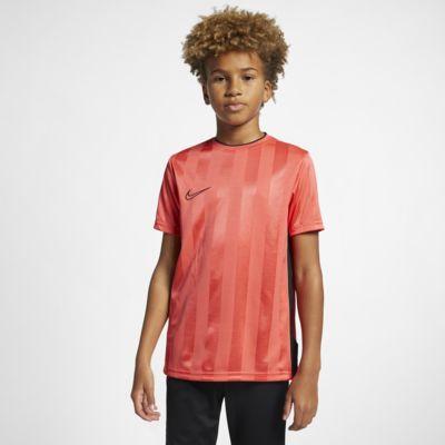 Nike Breathe Academy Kurzarm-Fußballoberteil für ältere Kinder