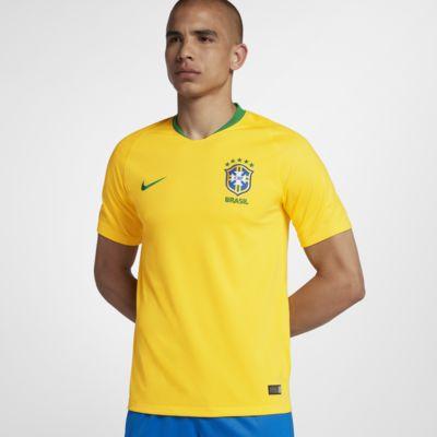 Maillot de football 2018 Brasil CBF Stadium Home pour Homme