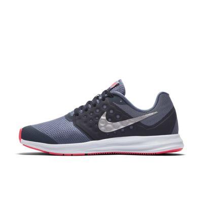 Купить Беговые кроссовки для школьников Nike Downshifter 7, Голубой гром/Dark Sky Blue/Розовый/Серебристый металлик, 19917968, 11833587