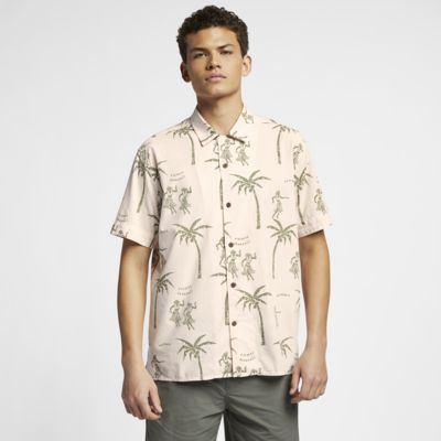 Camisa de manga curta Hurley Aloha para homem