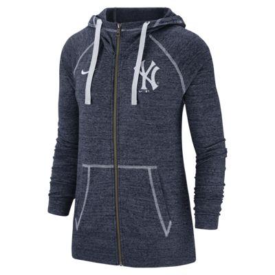 Nike Gym Vintage (MLB Yankees) Women's Full-Zip Hoodie