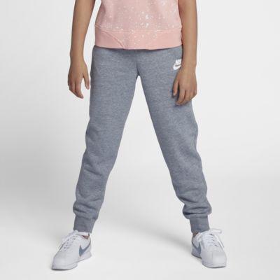 Pantalones para niña talla grande Nike Sportswear