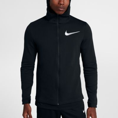 Nike Dry Hyper Elite Showtime Men's Full-Zip Basketball Hoodie