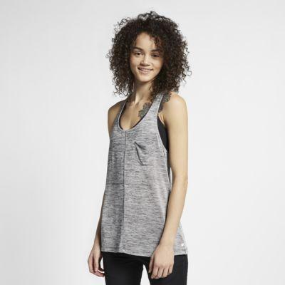 Camisola de malha sem mangas Hurley Quick Dry Glow para mulher