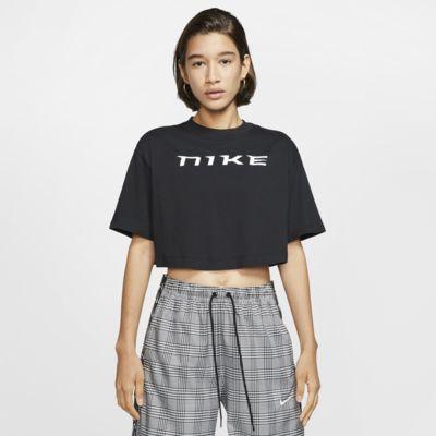 Γυναικεία κοντομάνικη μπλούζα σε κοντό μήκος Nike Sportswear
