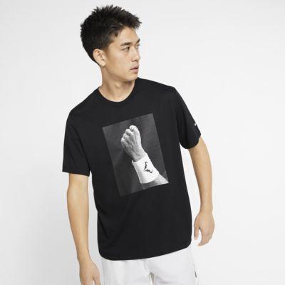 NikeCourt Dri-FIT Rafa Camiseta de tenis con estampado - Hombre