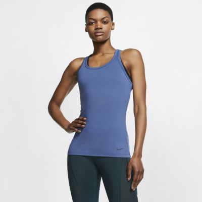 Nike Get Fit Yoga-Trainingstanktop für Damen