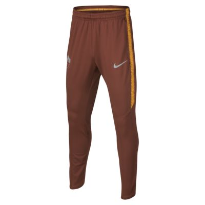 A.S. Roma Dri-FIT Squad fotballbukse for store barn