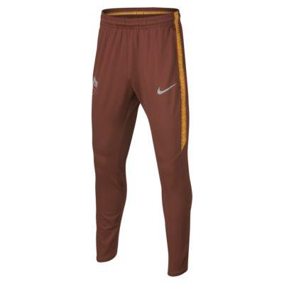 Pantalones de fútbol para niños talla grande A.S. Roma Dri-FIT Squad