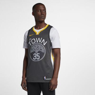 金州勇士队 (Kevin Durant) Statement Edition Swingman Jersey Nike NBA Connected Jersey 男子球衣